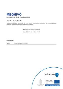 MEGHÍVÓ, Hungarikum, Őszi kopogtató készítése, 2020.10.12.-1