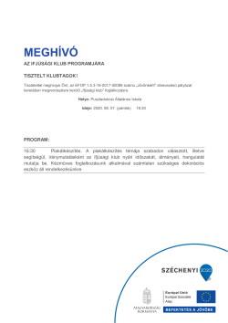 MEGHÍVÓ, Ifjúsági Klub, Plakátkészítés, 2020.08.07., PDF-1
