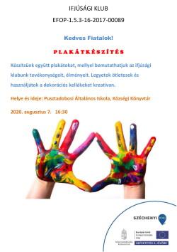 PLAKÁT, Ifjúsági Klub, Plakátkészítés, 2020.08.07., PDF-1