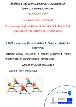 PLAKÁT, Sport, 2020.11.20.-1