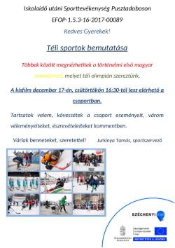PLAKÁT, Sport, 2020.12.17.-1