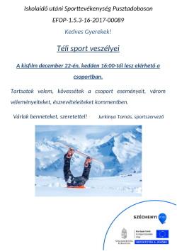 PLAKÁT, Sport, 2020.12.22.-1