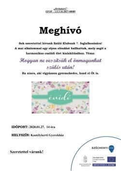 Szülő Klub Meghívó, 2020.01.27., PDF-1
